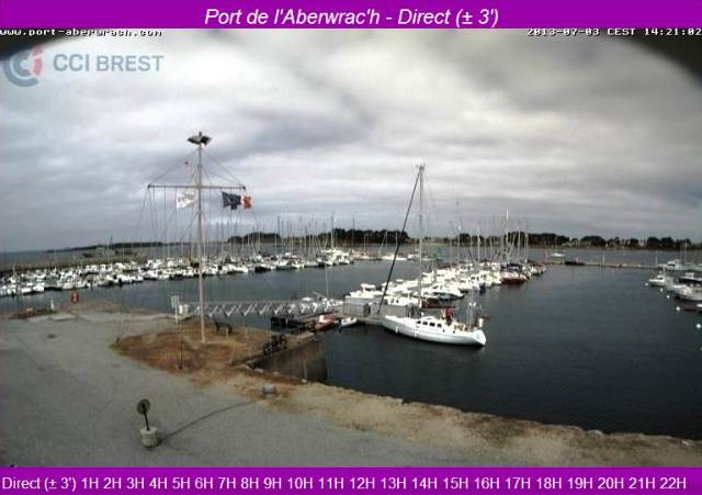 webcam du port de l'ABER WRAC'H dans ** WEBCAMS capt__h142400_001