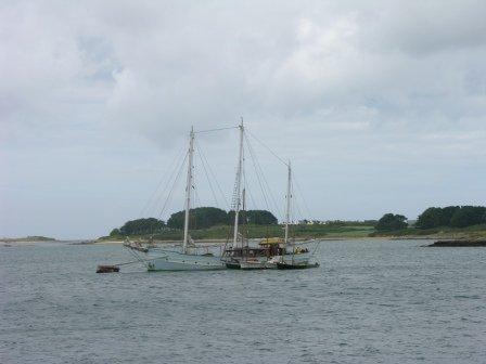 Les anciens bateaux arrivent brest 2008 la pointe for Petit bateau brest siam