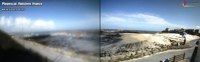La-webcam-de-l-'office-du-tourisme-vue-en-direct-du-port-de-Plouescat dans ** WEBCAMS webcam201
