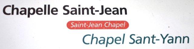 Chapelle Saint Jean à Plougastel