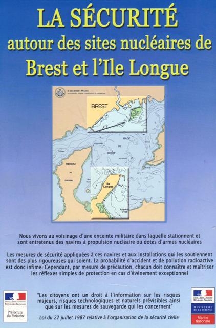 La Sécurité autour des sites nucléaires de Brest et l'ile Longue (1)